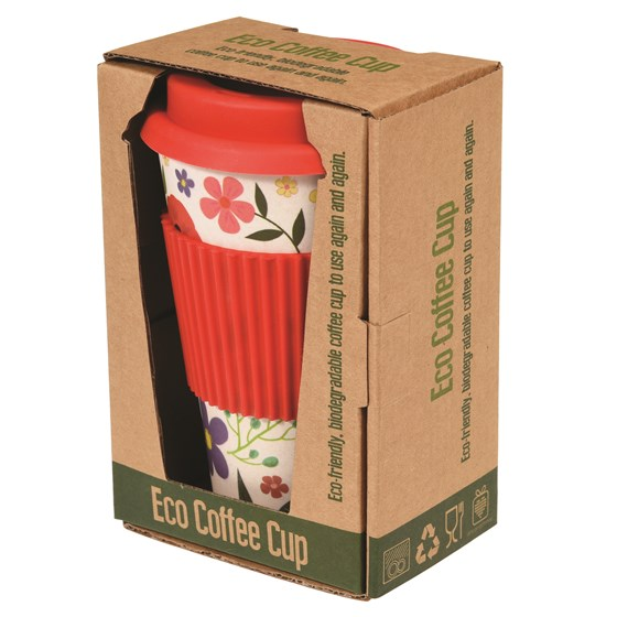 SUMMER MEADOW BAMBOO TRAVEL MUG