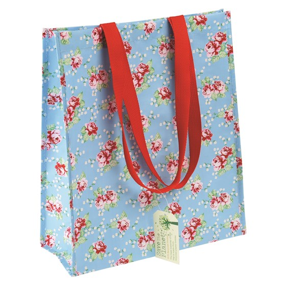 english rose shopping bag
