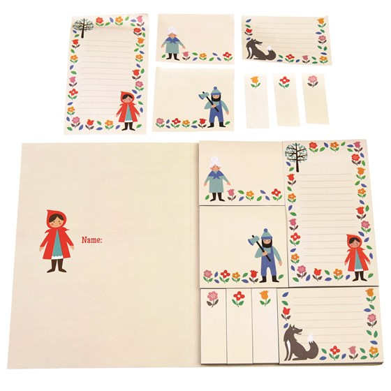 red riding hood memo pads
