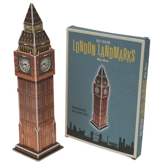 MAKE YOUR OWN LANDMARK BIG BEN
