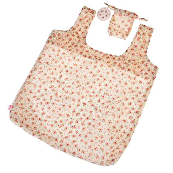 la petite rose foldaway shopping bag