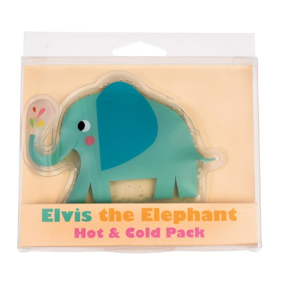 elvis the elephant hot/cold pack