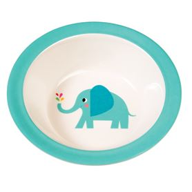 elvis the elephant melamine bowl