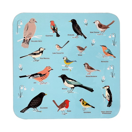 "set de table ""garden birds"""