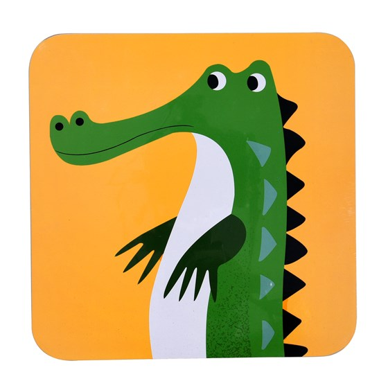 COLOURFUL CREATURES CROCODILE PLACEMAT