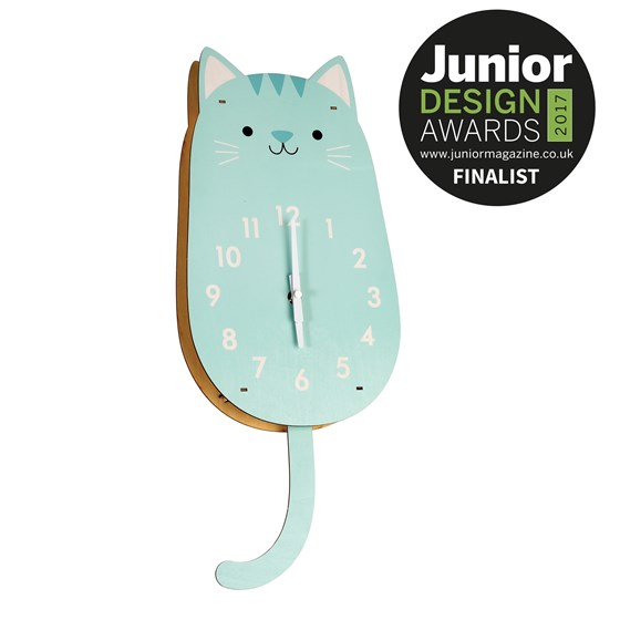 "wanduhr ""cookie the cat"""