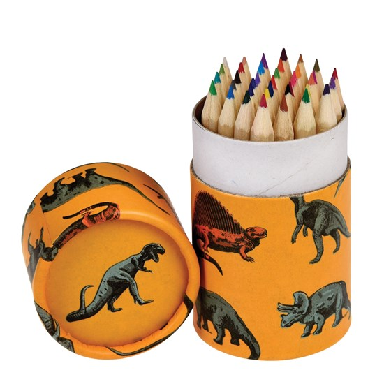 prehistoric land colouring pencils (set of 36)
