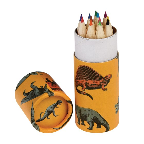 prehistoric land colouring pencils (set of 12)