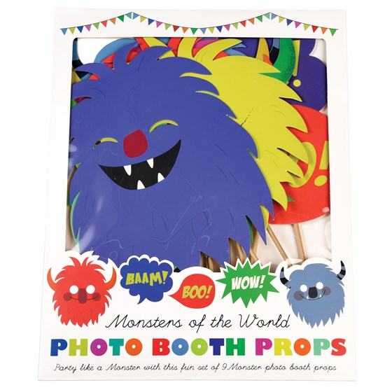 MONSTERS OF THE WORLD PHOTO BOOTH PROPS