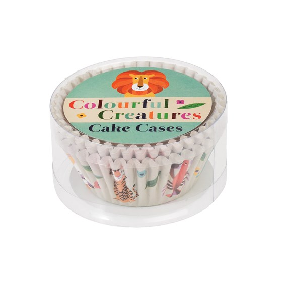 "set de 50 moules à cupcakes ""colourful creatures"""