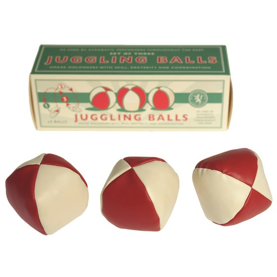 VINTAGE JUGGLING BALLS (SET OF 3)