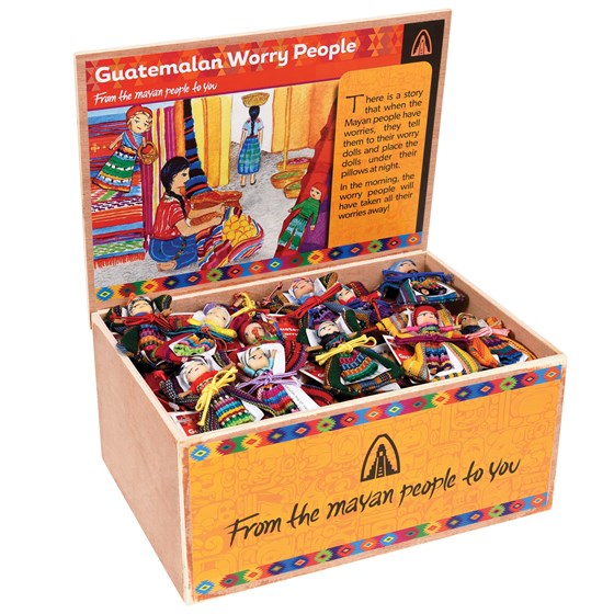 ASSORTED DESIGN WORRY DOLL IN BAG