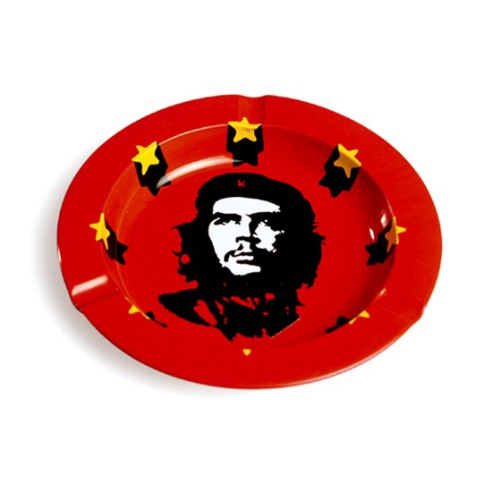 retro revolutionary tin ashtray