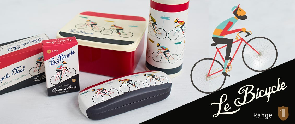 Le Bicycle range of men's gifts