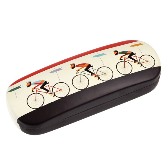 le bicycle glasses case with cleaning cloth