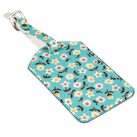daisy luggage tag