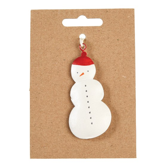 SNOWMAN METAL DECORATION