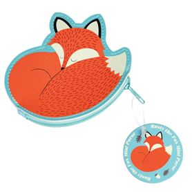 rusty the fox vinyl purse