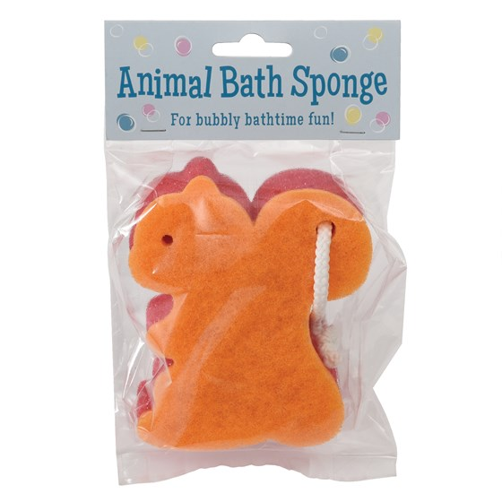 SQUIRREL BATH SPONGE