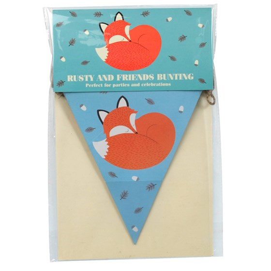 rusty and friends paper bunting
