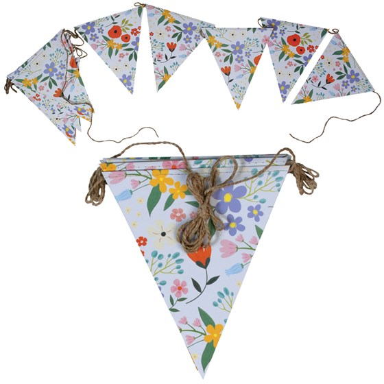 SUMMER MEADOW PAPER BUNTING