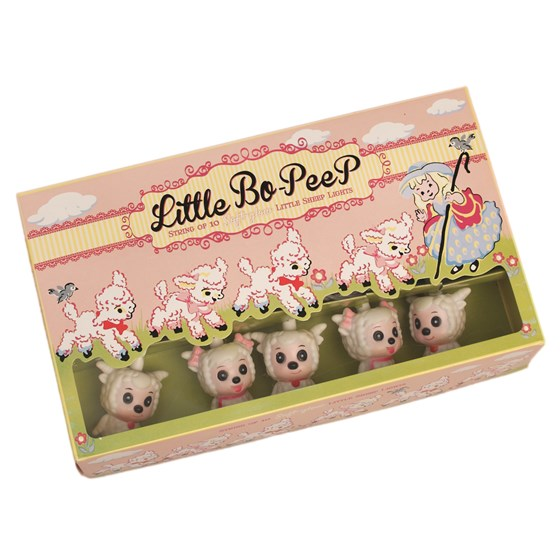 little bo-peep sheep lights bs 3 pin plug