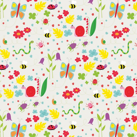 GARDEN FRIENDS WRAPPING PAPER