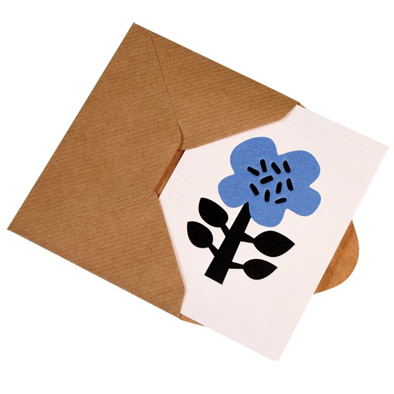 small astrid flower card