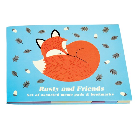 RUSTY AND FRIENDS MEMO PADS