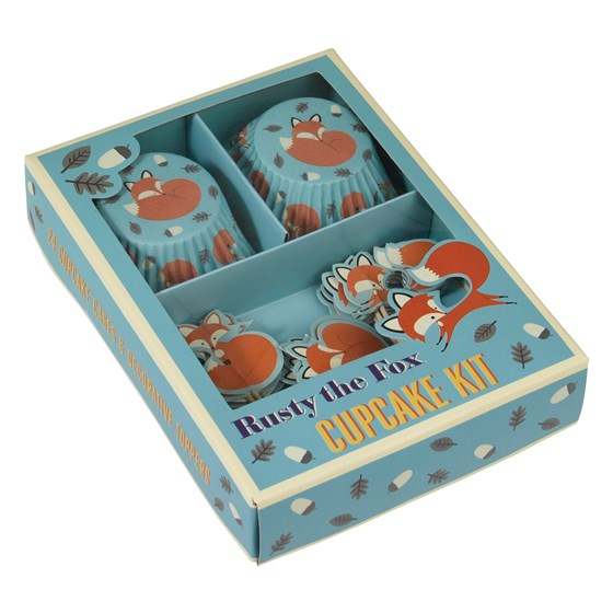 CUPCAKE KIT RUSTY THE FOX