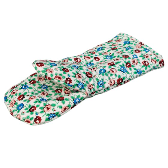 rambling rose oven glove