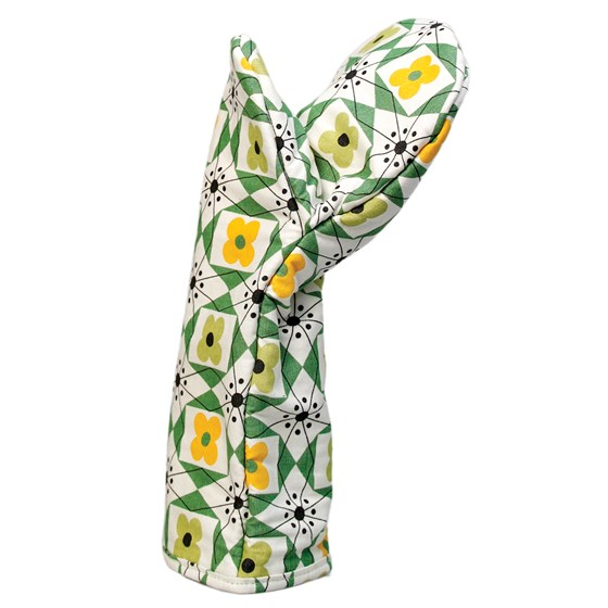 MID CENTURY FLORAL OVEN GLOVE