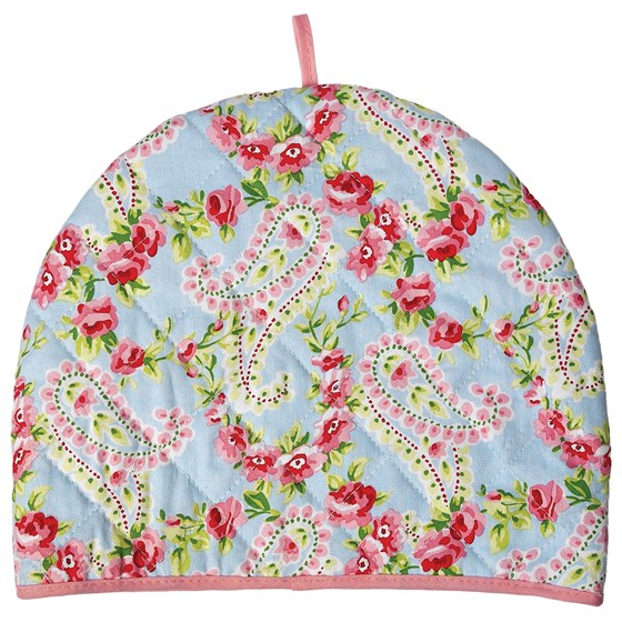 paisley park cotton tea cosy