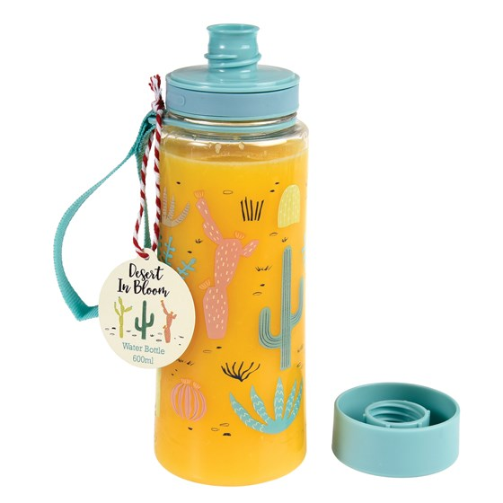 desert in bloom water bottle
