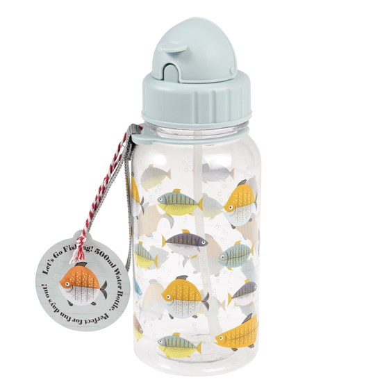 KIDS WATER BOTTLE LET'S GO FISHING