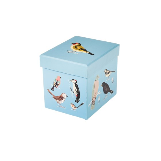 mug in a box garden birds design