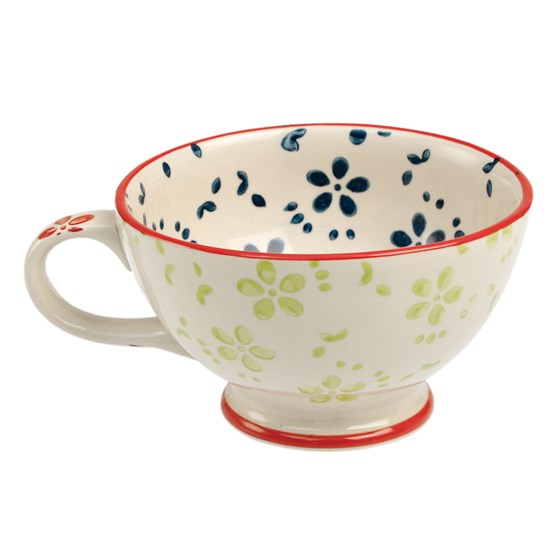 MOORISH COFFEE CUP EMMAS DAISY