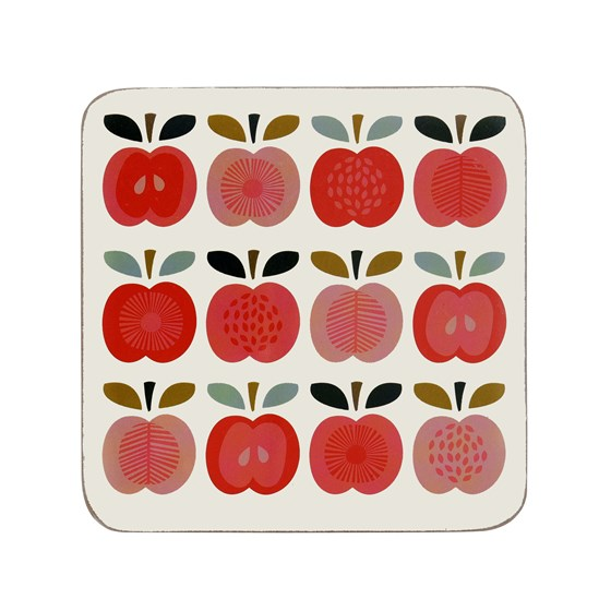 vintage apple coaster