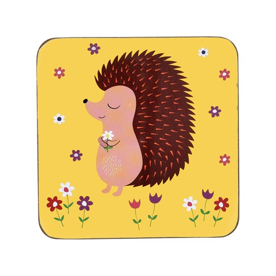 "dessous de verre ""honey the hedgehog"""