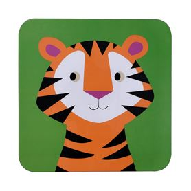 colourful creatures tiger placemat