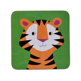 colourful creatures tiger coaster
