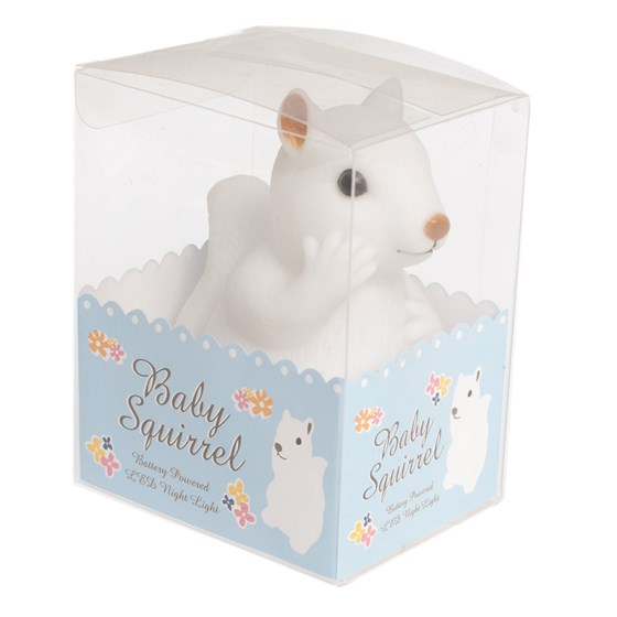 baby squirrel night light