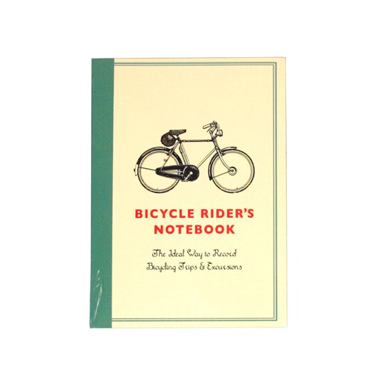 bicycle rider's a6 notebook