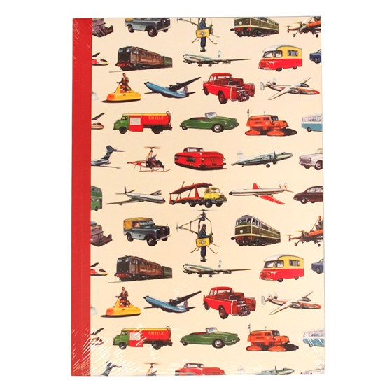 vintage transport a5 notebook