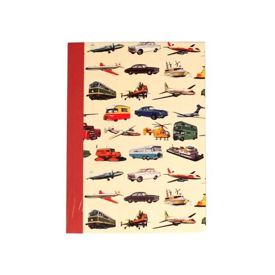 vintage transport a6 notebook