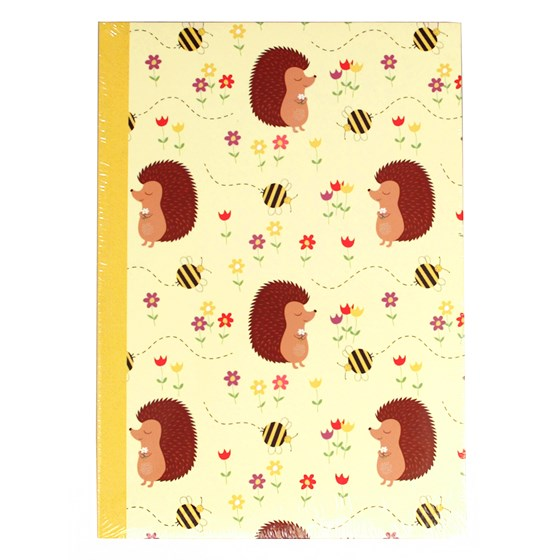 honey the hedgehog a5 notebook