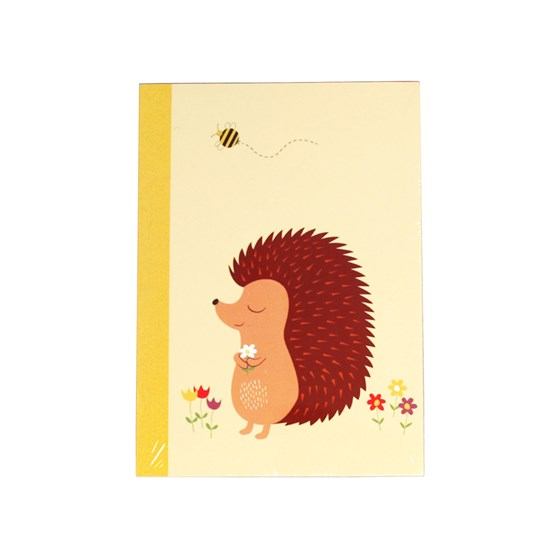 honey the hedgehog a6 notebook