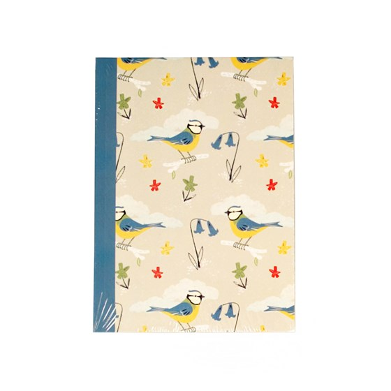 BLUE TITS DESIGN A6 NOTEBOOK