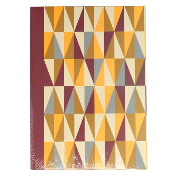 metro geometric a5 notebook