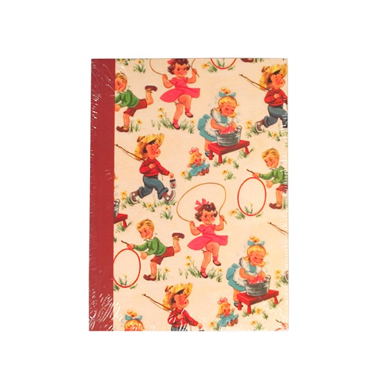 vintage kids a6 notebook